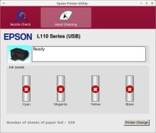 epson printer utility